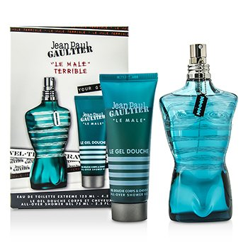 Jean Paul Gaultier Le Male Terrible Coffret: Eau De Toilette Extreme Spray 125ml/4.2oz + All-Over Shower Gel 75ml/2.5oz  2pcs