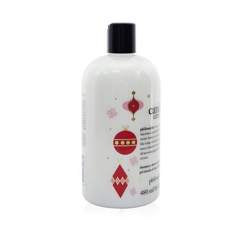 Candy Cane Lane Shampoo, Shower Gel & Bubble Bath  480ml/16oz