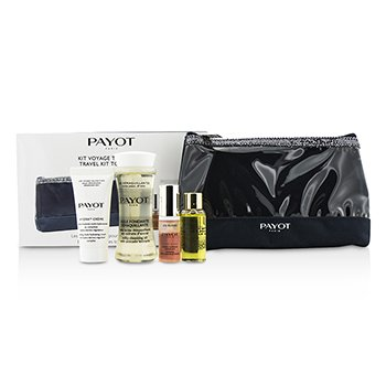 Travel Kit Top To Toe Set: Cleansing Oil 50ml + Cream 15ml + Elixir D'Ean Essence 5ml + Elixir Oil 10ml + Bag  4pcs + 1bag