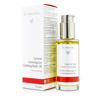 Lemon Lemongrass Vitalising Body Oil - Firms & Refreshes  75ml/2.5oz