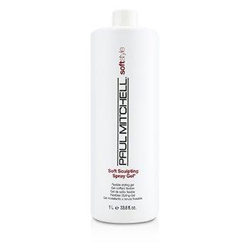 Paul Mitchell Soft Style Soft Sculpting Spray Gel (Flexible Styling Gel)  1000ml/33.8oz