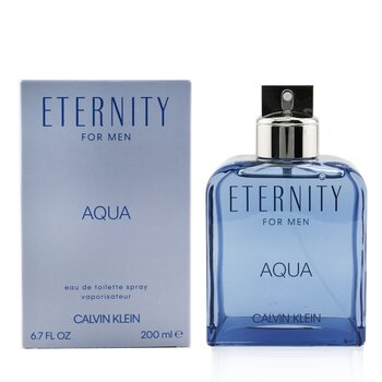 Eternity Aqua Eau De Toilette Spray  200ml/6.7oz