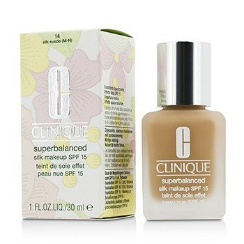 Clinique Superbalanced Maquillaje Sedoso SPF 15 - # 14 Silk Suede (M-N)  30ml/1oz