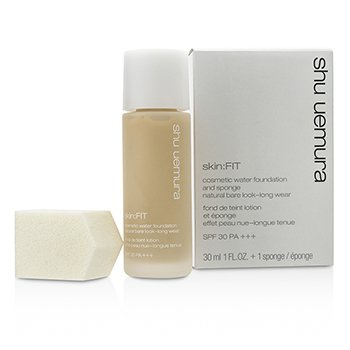 Shu Uemura Skin:Fit Cosmetic Base Agua y Esponja SPF30 - #764 Medium Light Beige  30ml/1oz