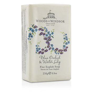 Woods Of Windsor Blue Orchid & Water Lily Jabón Fino Inglés  250ml/8.8oz