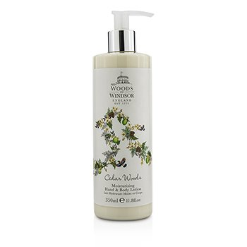 Woods Of Windsor Cedar Woods Moisturizing Hand & Body Lotion  350ml/11.8oz