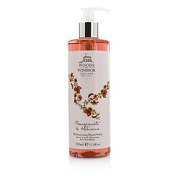 Woods Of Windsor Pomegranate & Hibiscus Moisturising Hand Wash  350ml/11.8oz