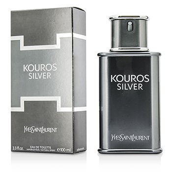 Woda toaletowa Kouros Silver Eau De Toilette Spray  100ml/3.3oz