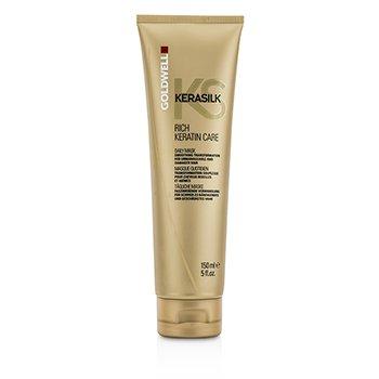 Goldwell Kerasilk Rich Keratin Care Καθημερινή Μάσκα - Απαλή Μεταμόρφωση (Για Μη Διαχειρίσιμα και Φθαρμένα Μαλλιά)  150ml/5oz