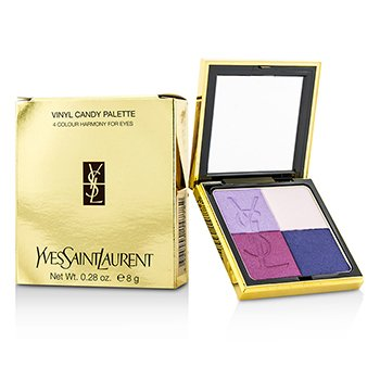 Yves Saint Laurent Vinyl Candy Palette (4 Colour Harmony For Eyes)  8g/0.28oz