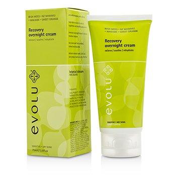 Evolu קרם שיקום לילה לעור רגיש ויבש  75ml/2.6oz
