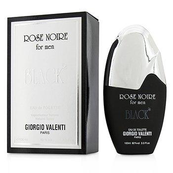 Giorgio Valenti Rose Noire Black Eau De Toilette Spray  100ml/3.3oz