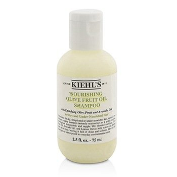 Kiehl's Olive Fruit Oil Nourishing Shampoo (For Dry and Under-Nourished Hair)  75ml/2.5oz