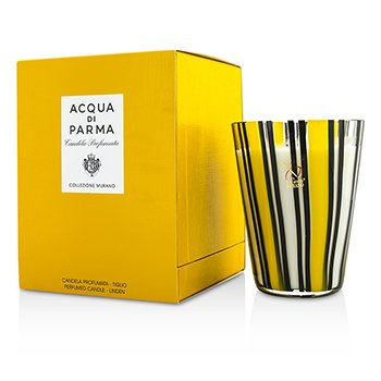 Murano Glass Perfumed Candle - Tiglio (Linen)  200g/7.05oz