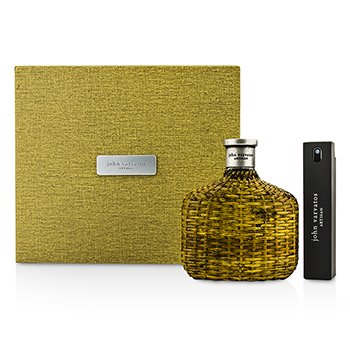 John Varvatos Artisan Coffret: Eau De Toilette Spray 125ml/4.2oz + Eau De Toilette Travel Spray 17ml/0.57oz  2pcs