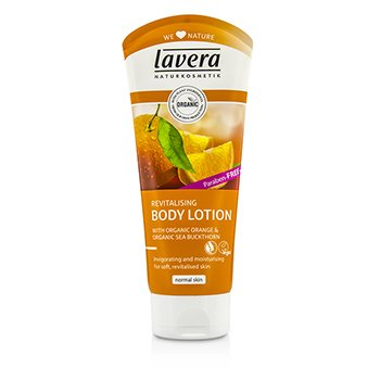 Lavera Organic Orange & Sea Buckthorn Revitalising Body Lotion  200ml/6.6oz