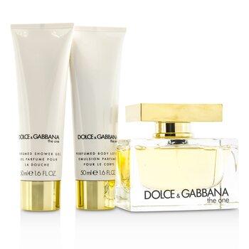 The One Coffret: Eau De Parfum Spray 75ml/2.5oz + Body Lotion 50ml/1.6oz + Shower Gel 50ml/1.6oz  3pcs