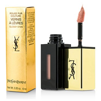 Yves Saint Laurent Rouge Pur Couture Vernis a Levres Color Brillo(Edición Limitada) - # 370 Le Nu  6ml/0.2oz
