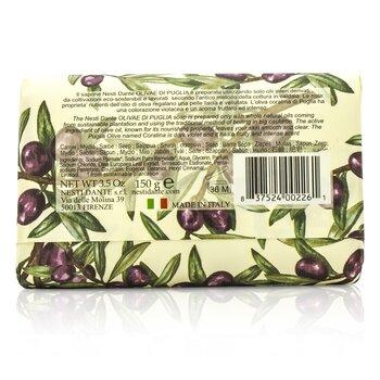 Natural Soap With Italian Olive Leaf Extract  - Olivae Di Puglia  150g/3.5oz