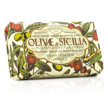 Natural Soap With Italian Olive Leaf Extract  - Olivae Di Sicilia  150g/3.5oz
