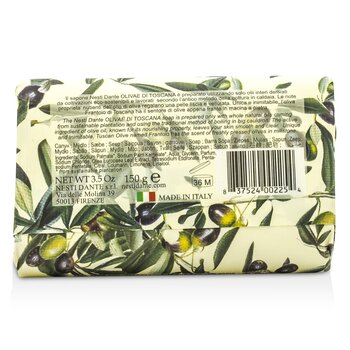 Natural Soap With Italian Olive Leaf Extract  - Olivae Di Toscana  150g/3.5oz