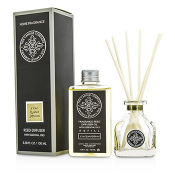 Reed Diffuser with Essential Oils - Stone Washed Driftwood  100ml/3.38oz
