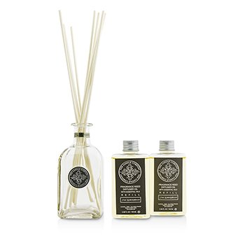 Reed Diffuser with Essential Oils - Stone Washed Driftwood  200ml/6.76oz