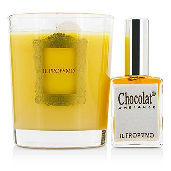 Scented Candle - Chocolat (with Room Frangrance Spray 15ml/0.5oz)  200g/7oz