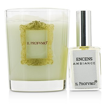 Scented Candle - Encens (with Room Frangrance Spray 15ml/0.5oz)  200g/7oz