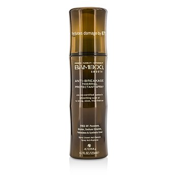 Alterna Bamboo Smooth Anti-Breakage Thermal Protectant Spray (For Strong, Sleek, Frizz-Free Hair)  125ml/4.2oz