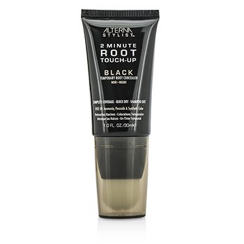 Stylist 2 Minute Root Touch-Up Temporary Root Concealer - # Black  30ml/1oz