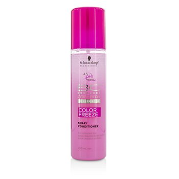 Schwarzkopf BC Color Freeze pH 4.5 Spray Conditioner (For Coloured Hair)  200ml/6.7oz
