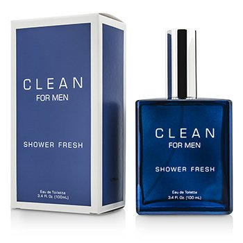 Clean Clean Shower Fresh For Men Eau De Toilette Spray  100ml/3.4oz