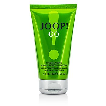 Joop Joop Go Stimulating Hair & Body Shampoo  150ml/5oz