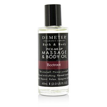 Demeter Beetroot Massage & Body Oil  60ml/2oz