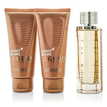 Legend Pour Femme Coffret: Eau De Parfum Spray 75ml/2.5oz + Body Lotion 100ml/3.3oz + Shower Gel 100ml/3.3oz  3pcs