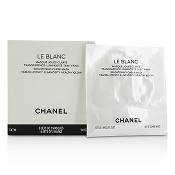 Chanel Le Blanc Brightening Cheek Mascarilla  6x7ml/0.23oz