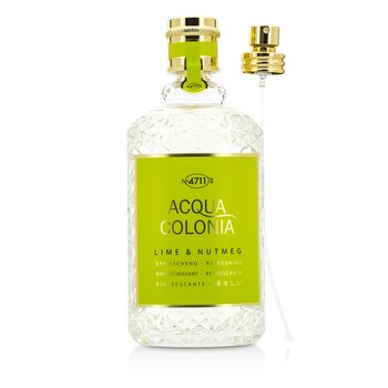 Acqua Colonia Lime & Nutmeg Eau De Cologne Spray  170ml/5.7oz