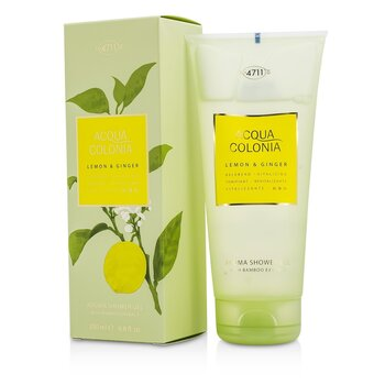 Acqua Colonia Lemon & Ginger Aroma Shower Gel  200ml/6.8oz