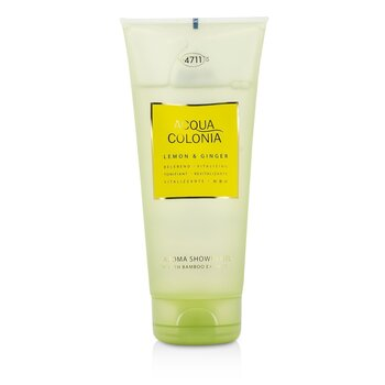 4711 Acqua Colonia Lemon & Ginger Gel de Duș Aromat   200ml/6.8oz