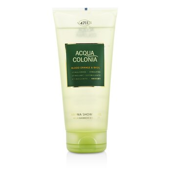4711 Żel pod prysznic Acqua Colonia Blood Orange & Basil Aroma Shower Gel  200ml/6.8oz