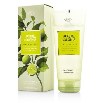 Acqua Colonia Lime & Nutmeg Aroma Shower Gel  200ml/6.8oz