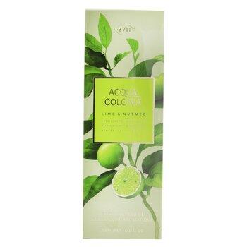 Acqua Colonia Lime & Nutmeg Aroma Shower Gel  200ml/6.8oz