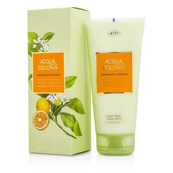 4711 Acqua Colonia Mandarine & Cardamom Moisturizing Body Lotion  200ml/6.8oz