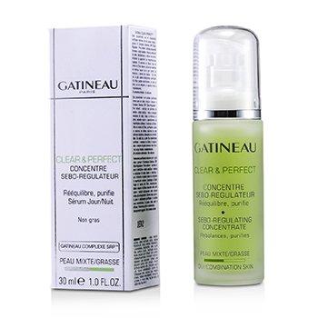 Gatineau Clear & Perfect faggyú-szabályozó koncentrátum (zsíros/ kombinált bőrre)  30ml/1oz
