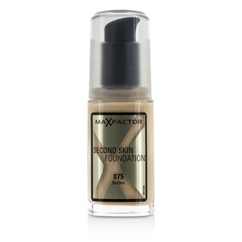 Max Factor Second Skin Foundation - #075 Golden  30ml/1oz