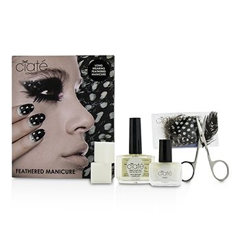 Feathered Manicure Set  -