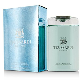 Trussardi Blue Land Champú & Gel de Ducha  200ml/6.7oz