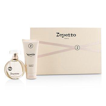 Repetto Coffret: Eau De Toilette Spray 50ml/1.7oz + Body Lotion 100ml/3.3oz  2pcs
