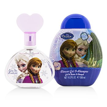 Disney Frozen Coffret: Eau De Toilette Spray 100ml/3.4oz + Shower Gel & Shampoo 300ml/10.2oz 2pcs